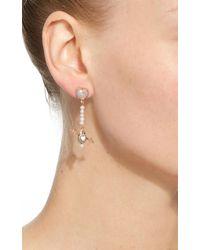Daniela Villegas - Green One-of-a-kind Clarity Earrings - Lyst
