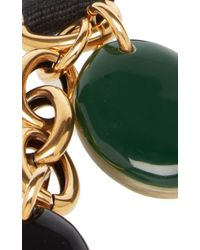 Marni - Black And Green Resin Necklace - Lyst