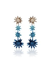 All Things Mochi - Blue Habiska Earrings - Lyst