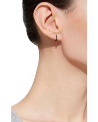 AS29 - La Collection Hoop Earring In Black - Lyst