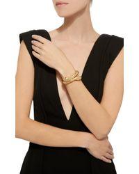 Sidney Garber - Metallic 18k Yellow Gold Il Serpente Bracelet - Lyst