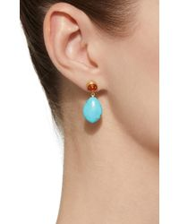 Mallary Marks - Blue Apple&eve Sapphire Earrings - Lyst