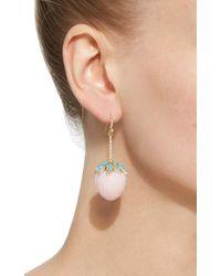 Irene Neuwirth - Pink Opal Strawberry Earrings - Lyst