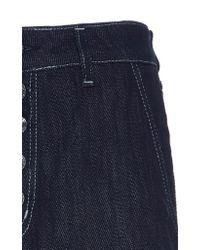 Dondup - Blue Button Up Jean - Lyst
