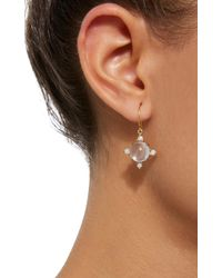 Daria de Koning - Pink Dagny Sun 18k Gold Multi-stone Earrings - Lyst