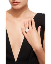 Cvc Stones - White Exclusive: 18k Gold, Beach Stone And Sapphire Ocean Ring - Lyst