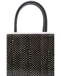 Michino Paris - Black Squarit Pm Shoulder Bag - Lyst