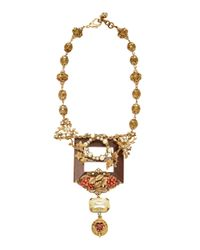 Lulu Frost - Metallic One-of-a-kind Victorian Necklace - Lyst