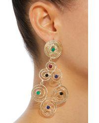 Rosantica - Metallic Gold-tone Brass Earrings - Lyst