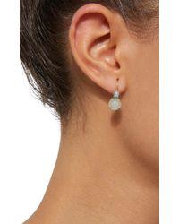 Daria de Koning - Blue Dagny Tiny Two Stones 18k Gold Earrings - Lyst