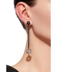 Colette - Black Ball Earrings - Lyst
