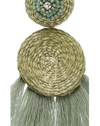 Johanna Ortiz - Green M'o Exclusive Nairobi Fringe Earrings - Lyst