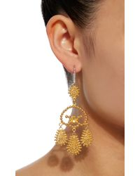 Hanut Singh | Metallic Girandole Earrings | Lyst