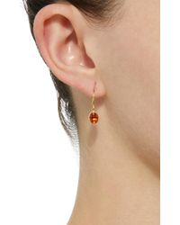 Mallary Marks | Orange Hard Candy 18k Gold Spessartite Garnet Earrings | Lyst