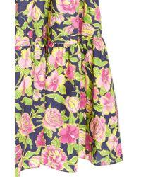 Mds Stripes Multicolor Sleeveless Peasant Dress