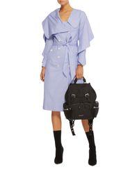 Burberry - Black Rucksack Medium Leather Backpack - Lyst