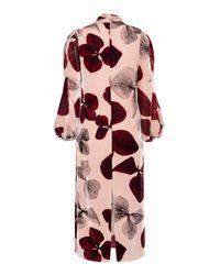 Maria Lucia Hohan - Multicolor Rona Printed Velvet Dress - Lyst