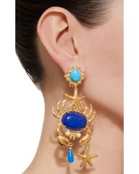 Christie Nicolaides - Blue Majolica Turquoise Earrings - Lyst