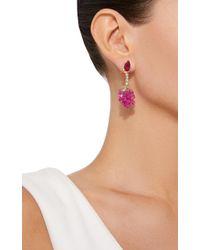 Anabela Chan - Red Raspberry Earrings - Lyst