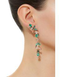 Nak Armstrong - Green Fauna Earrings - Lyst