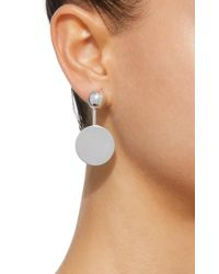 Agmes - Metallic Nora Sterling Silver Earrings - Lyst