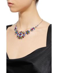 Ben-Amun - Multicolor Silver-tone Crystal Necklace - Lyst