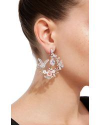 Anabela Chan - Exclusive 18k White Gold Butterfly Garland Earrings - Lyst