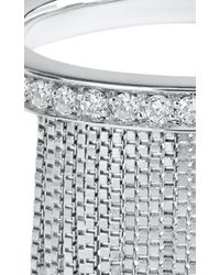 Jack Vartanian | Metallic Love Ny Diamond Fringe Ring In White Gold With Diamonds | Lyst
