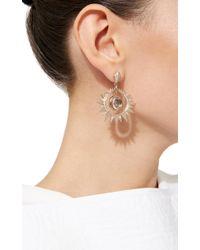 Venyx   White Aruna Earrings   Lyst