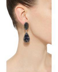 Sanjay Kasliwal | Blue Sapphire Rough Earrings | Lyst