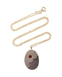 CVC Stones | Gray Eternal Flame Necklace | Lyst