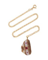 CVC Stones | Brown My Bird Necklace | Lyst