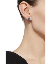 Mattioli - Blue Puzzle Earrings With Sapphires - Lyst
