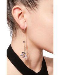 Anna Sheffield   Blue Butterfly Drop Earrings   Lyst