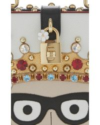Dolce & Gabbana - White Playing Card Top Handle Bag - Lyst