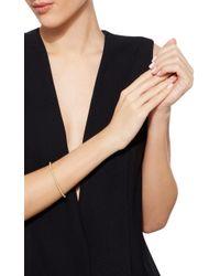 QAYTEN | Metallic Ez Yellow Gold Pearl Bracelet | Lyst