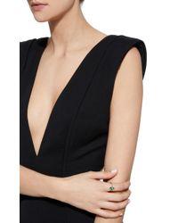 Jemma Wynne | Green Double Emeralds Ring | Lyst