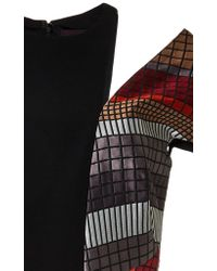 Bibhu Mohapatra | Black Mosaic Detail Pencil Dress | Lyst