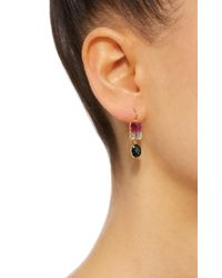 Renee Lewis   Pink Antique Watermelon And Chrome Tourmaline Earrings   Lyst