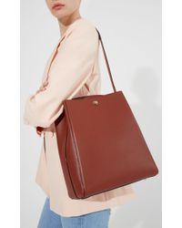 Valextra   Red Brera Shoulder Bag   Lyst