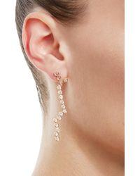 Lito - Metallic Hive Stick Earrings - Lyst