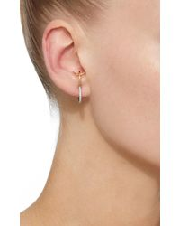 Charlotte Chesnais - White Bloom Single Earring - Lyst
