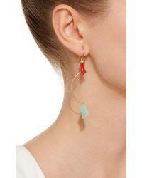 Annette Ferdinandsen | Metallic M'o Exclusive: Gone Fishing Chrysoprase Earring | Lyst