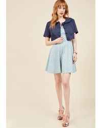 Collectif | Blue Lend Me Your Yesteryear Jacket | Lyst