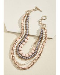 Ana Accessories Inc | Pink Yes You Glam Necklace In Blush | Lyst