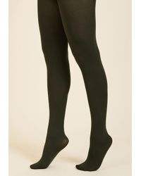 Gipsy Tights - Green Accent Your Ensemble Tights In Olive - Lyst