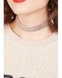 Ana Accessories Inc - Natural Effortless Accent Velvet Choker - Lyst