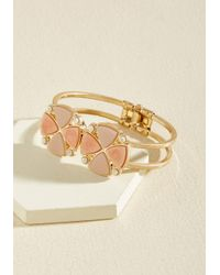 ModCloth - Metallic Accessorized Enlightenment Bracelet - Lyst
