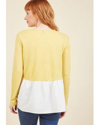 Compañía Fantástica - Multicolor Done The Bright Way Long Sleeve Top - Lyst