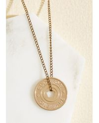 Erica Weiner | Metallic Near And Fare Necklace | Lyst